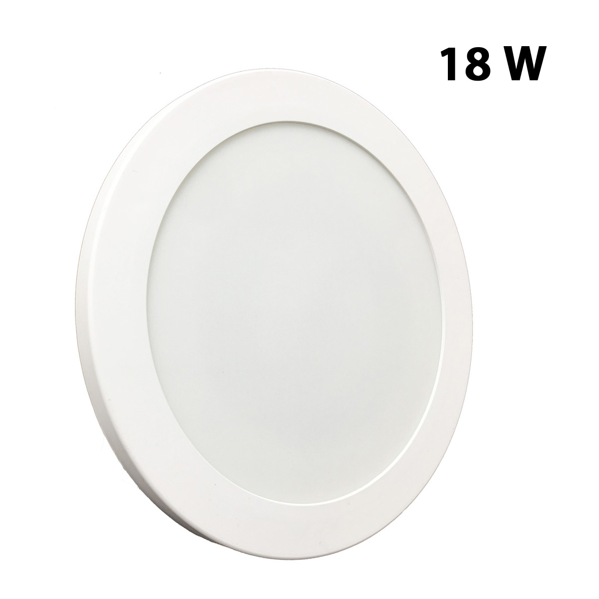 Plafoniera applique LED 18w slim disco diametro 225 mm da muro, soffitto LED